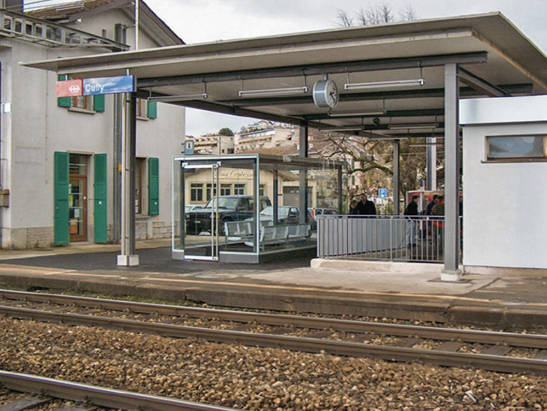 CULLY: la modernisation de sa gare a commencé