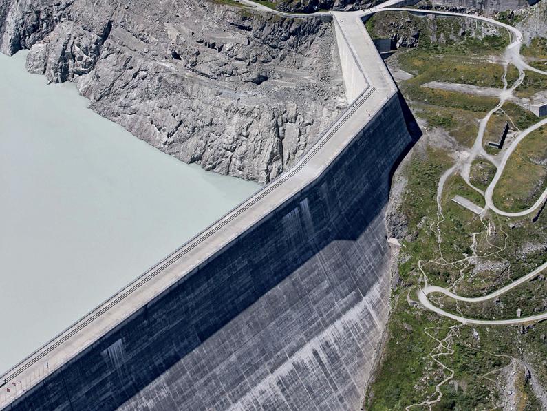 L'aménagement hydroélectrique  le plus puissant de Suisse