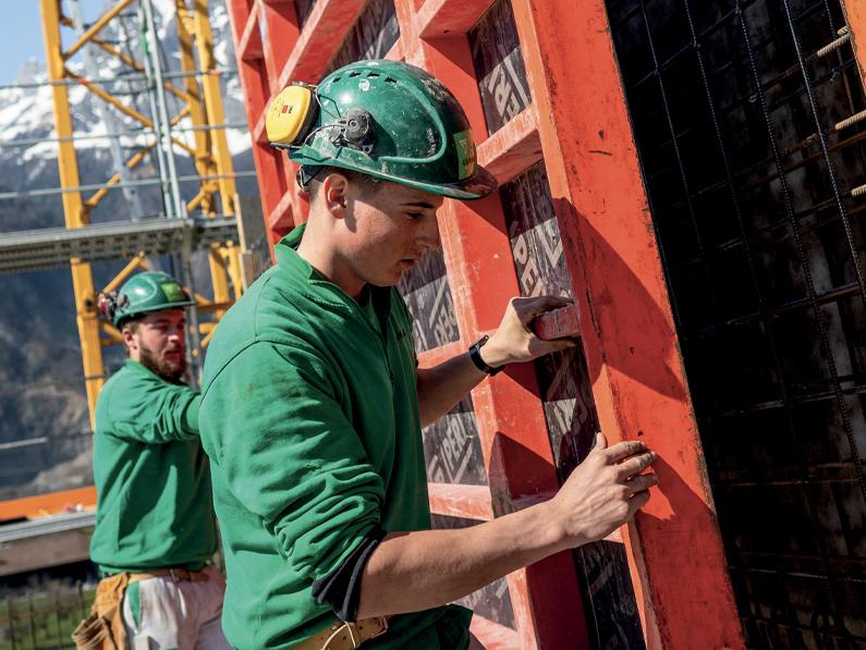 Prendre son envol: un cadre évolutif pour les apprentis de la construction