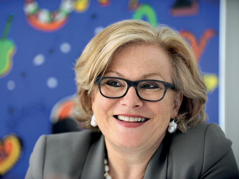 Le «smart», une priorité pour Renate Amstutz
