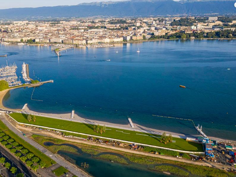 GENÈVE: l'inauguration de la plage des Eaux-vives prévue pour le 16 mai n'aura pas lieu