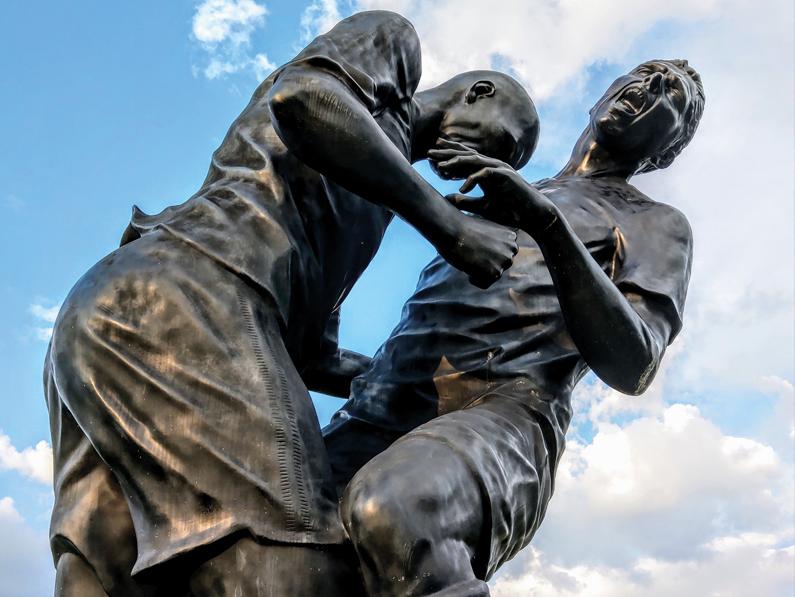 GENÈVE (GE): polémique autour d'une statue