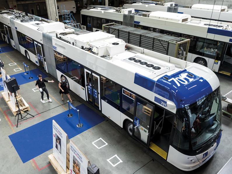 LAUSANNE (VD): le «Superbus» arrive