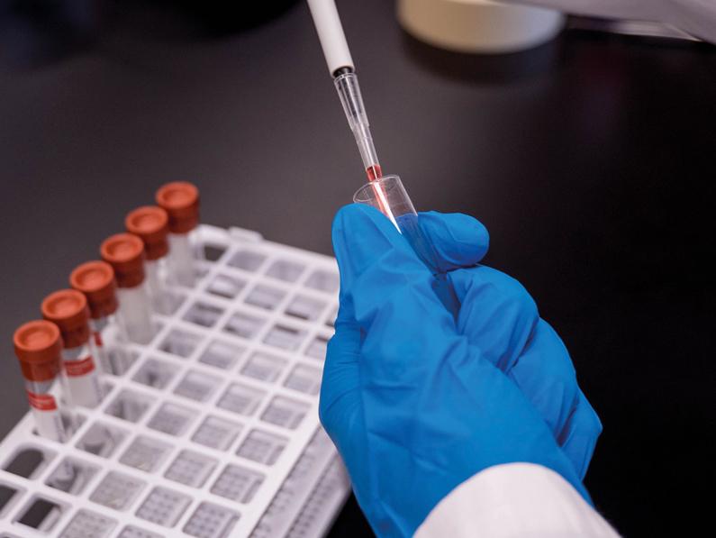 L'affaire du test de vaccin covid-19 en Afrique