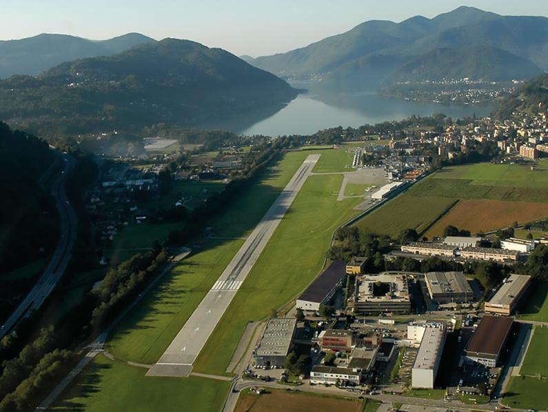 (TI) LE COVID RELANCE L'AEROPORT DE LUGANO