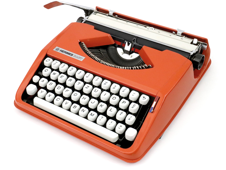 YVERDON (VD) : La machine à écrire dans tous ses états