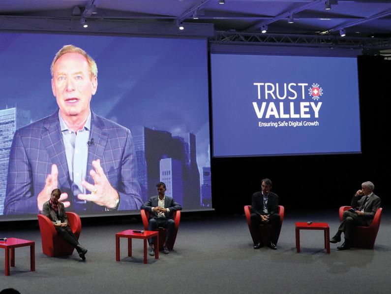Lancement de la Trust Valley à l'EPFL le jeudi 8 octobre 2020 Cybersécurité Mauro Poggia sécurité 2.0