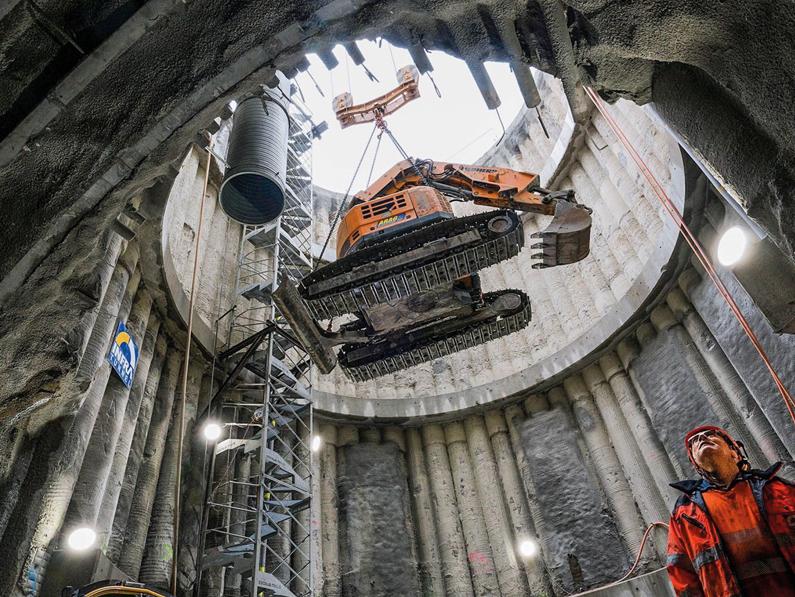Tunnel LEB Lausanne-Échallens-Bercher
