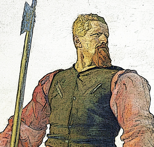 Lansquenet mercenaire suisse